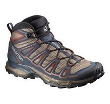 New! Salomon Men's Shoes X Ultra Mid Aero Shrew/Blue/Red Model: L37919400-10