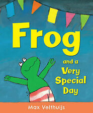 Frog and a Very Special Day, New, Velthuijs, Max Book