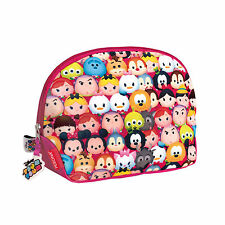 Disney Tsum Tsum Vanity Cosmetic Make-Up Bag Traveller Weekend Girls OFFICIAL