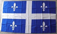CANADA QUEBEC POLYESTER INTERNATIONAL COUNTRY FLAG 3 X 5 FEET