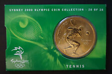 Olympic Games Collectable - Five Dollar Coin - Tennis - Sydney 2000
