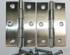"PAIR of 3"" / 75mm  STAINLESS STEEL BUTT HINGES"