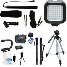 7-Piece Video & Mic Filmmaker Kit for Fujifilm FinePix HS50EXR S9900W S9800