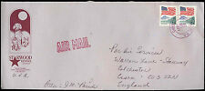USA 1991 Commercial Airmail Cover To UK #C32537