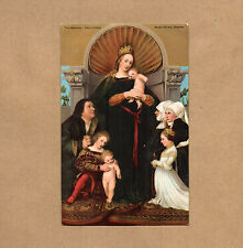 The Madonna Hans Holbein Edwardian Misch and Co galleries of the world No1060