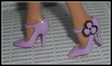 SHOES  BARBIE LOUBOUTIN MODEL MUSE DOLL LAVENDER FLOWER HIGH HEEL PUMPS SHOES