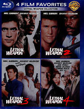 Lethal Weapon 1 2 3 4 Collection 4 Film Favorites (Blu-ray Disc4-Disc Set) NEW