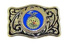FFA Future Farmers of America 4H 4 H Youth Agriculture Western Belt Buckle
