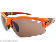 BLOC mens TITAN sports Sunglasses Shiny Orange/ Vermillion CAT.3 Lens X632S