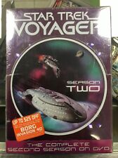 Star Trek: Voyager - The Complete Second Season 2 (DVD, 2004, 7-Disc Set)