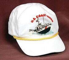 NEW US Coast Guard Cap White Adjustable Hat Military Ship Boat