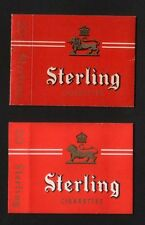 2 different varieties Old Empty cigarette packets scarce #854