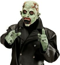 Lab Monster Frankenstein Halloween Fancy Dress Latex 3/4 Face Mask