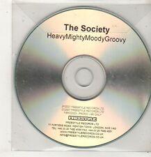 (GC701) The Society, Heavy Mighty Moody Groovy - 2007 DJ CD