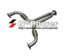 """STAINLESS STEEL FRONT Y PIPE 3"""" FLEXIBLE FAIRLADY FOR NISSAN 350Z Z33 VQ35DE 3.5"""