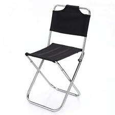 New Outdoor Portable Lightweight Folding Seat Stool Beach Fishing Camping Chair