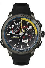 Timex Men's Intelligent Quartz TW2P44300 Black Rubber Analog Quartz Yacht Racer