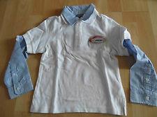 GEOX schönes Poloshirt m. Hemd Lagenlook Gr. 110 / 5 J  NEU  OA215