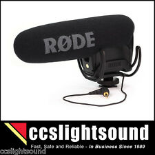 NEW MODEL - RODE VIDEOMIC PRO R COMPACT SHOTGUN - WITH RYCOTE LYRE SHOCKMOUNT