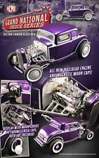1:18 GMP/ACME 1932 Ford 5 window Coupe Magnetic Moon Caps purple Lmtd. ed1/996
