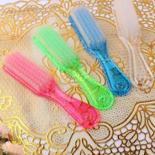 Acrylic Pedicure Wash Home Removal Nail Art Scrub Brush Dust Cleaning Tool 1x