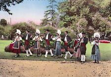 """LANDES SCENES TYPIQUES 301 groupe folklorique """"lous garounes"""" danse"""