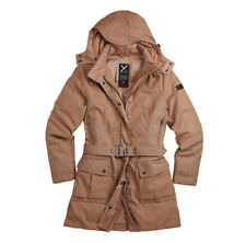 SURPLUS DAMEN KHAKI 36 UVP 179,90 EUR XYLONTUM WINTER DAUNEN MANTEL WINTERJACKE