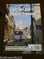 MODERN TRAMWAY # 682 - BUCERESTI TRAMWAYS - OCT 1994