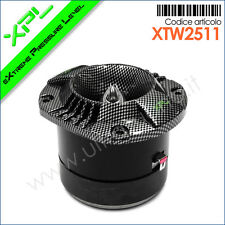 XTW2511 Tweeter XPL a compressione-tromba carbon look con bobina da 25mm - 200W