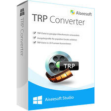 TRP Converter WIN Aiseesoft dt.Vollversion-lebenslange Lizenz  ESD Download !!