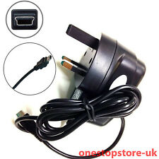 Mains Wall Plug Charger For TomTom Go Live Via One XXL TomTom One 1st Ed 2nd Ed