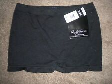 Body Form black stretch knit boyshort #7886 NWT 9 2X