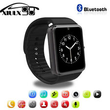 "GT08 1.54"" Touch Screen Bluetooth Smart Wrist Watch Phone Mate For Android &Ios"