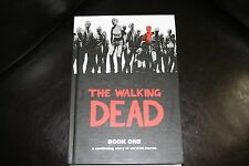 The Walking Dead Book 1 Hardcover Graphic Novel Robert Kirkman Signed Edition
