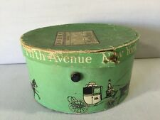 Hat Box Salesman Sample Antique Dobbs Fifth Ave Hats New York Roos Bros
