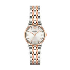 Emporio Armani Alpha AR1962 Silver / Two-Tone (Silver & Rose Gold) Stainles