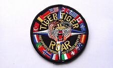 PATCH RARA TIGER ROAR RAF HEYFORD 1989