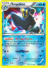x1 Empoleon - 38/162 - Holo Rare - Reverse Holo Pokemon XY Breakthrough M/NM