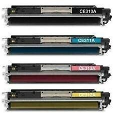 Global Cartridges Compatible Toner Cartridge Replacement for HP 126A 4 Colors