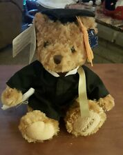 8 in Sitting Applause Graduation Bear Plush with All tags and felt diploma 2009