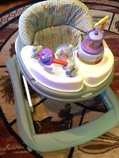 SAFETY 1st WINNIE The POOH MUSIC & Lights ACTIVITY Walker FEEDING Tray baby