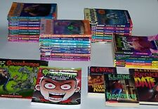 Lot of 41 R.L. Stine Goosebumps & Others PB Books Scholastic - How To Draw!
