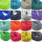 2.5MM ELASTICATED COLOURED CORD *23 COLOURS* ELASTIC CORDING TRIMMING CRAFTS