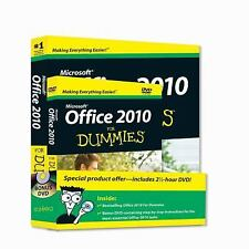 MICROSOFT OFFICE 2010 FOR DUMMIES - WALLACE WANG (PAPERBACK) NEW