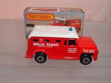 MATCHBOX LESNEY SUPERFAST 69 SECURITY TRUCK WITH ITS ORIGINAL BOX VINTAGE C PICS