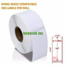 6 Rolls of 350 Address Labels in Mini-Cartons For DYMO® LabelWriters® 30252