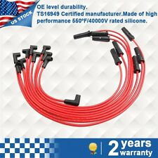7mm Spark Plug Ignition Wire Kits red  for Chevrolet GMC 7.4L 454Cu. In. V8