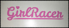 BARBIE PINK Girl Racer Car Sticker Decal Funny Cute Babe Drift JDM VEEDUB Bug