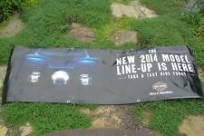 Big Harley Davidson Motorcycle Sign Banner 2014 Model United by Independents