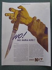 No Hara Kiri for Japanese Enemies WWII Ad